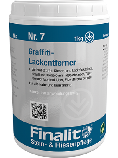 Finalit Nr. 7 Graffiti-Lackentferner (sauer)