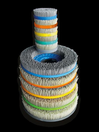 Finalit Diamantbürsten für Handmaschine, 160 mm - Hartgesteine