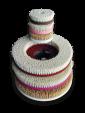 Porzellanbürsten für Bodenmaschine, 380 mm - Weichgesteine